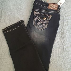 Hydraulic Bailey Straight Leg Low Rise Jeans